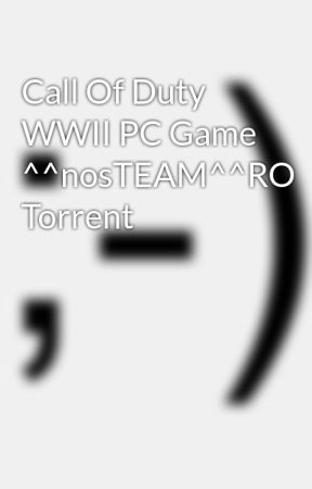 call of duty wwii pc game torrent download