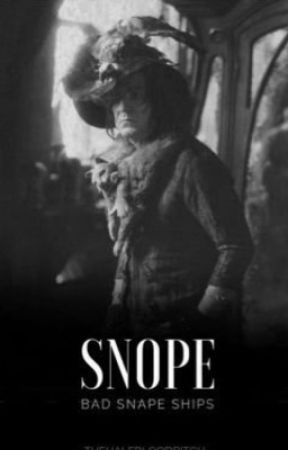 SNOPE - BAD SNAPE SHIPS by thehalfbloodbitch
