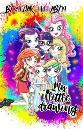 My Little Drawing Biodata Mane 7 Wattpad