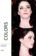 colors - kaya scodelario and cole sprouse by carlsonsuicide