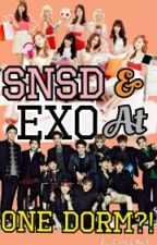 SNSD AND EXO AT ONE DORM?!?! by brokendumb