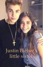 Justin Bieber's little sister. by janoskians666