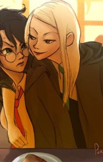 Cheater female Harry Potter x male Slytherin reader x female