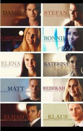 The vampire diaries | the originals  by GfFraser4