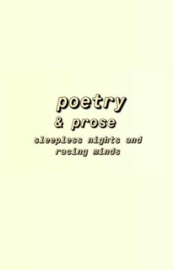 p o e t r y - sleepless nights and racing minds