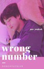 Wrong Number | Jungkook by hyuckzens