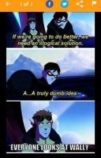 Young Justice story ideas by MagdalemBeltran
