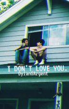 Yo no te amo. ✓Sterek✓ by DylanGArgent