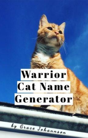 Warrior Cat Name Generator - Favorite Music Genre / Favorite