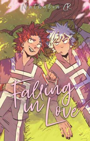 Falling In Love » Kirishima x Bakugou.  by _NathaliaCR