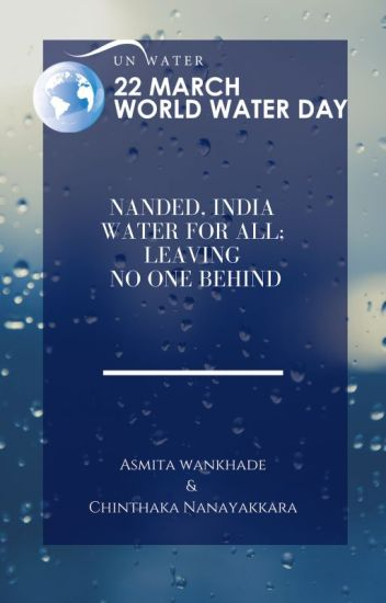 Nanded, India, water for all, leaving no one  behind