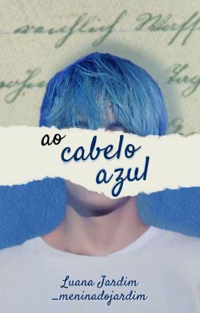 To Blue Hair • KTH by _meninadojardim