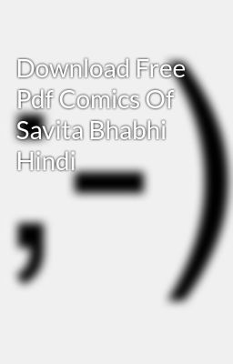Download Free Pdf Comics Of Savita Bhabhi Hindi
