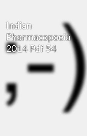 Indian Pharmacopoeia 1996 Pdf