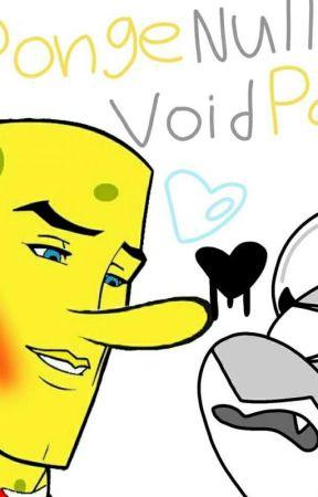 Null X Spongebob by KittyloverWrites
