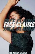 female face claims by wayward-sarah