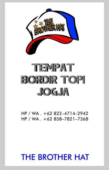 BIKIN TOPI BORDIR SATUAN... HP   WA . +62 822-4714-2942 (TELKOMSEL ... aab544155b