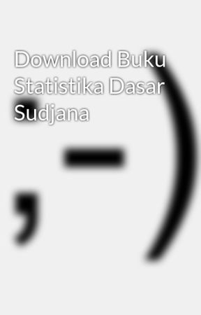 Buku Statistik Sudjana Pdf