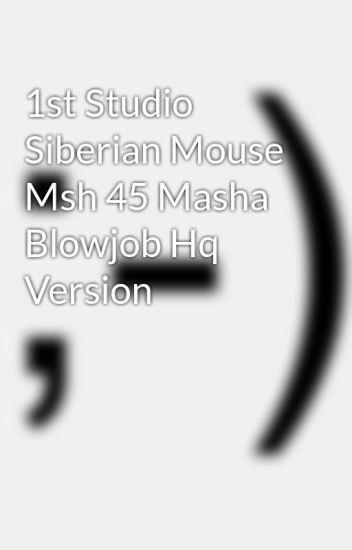 Are mistaken. 1st studio siberian mouse blowjob think