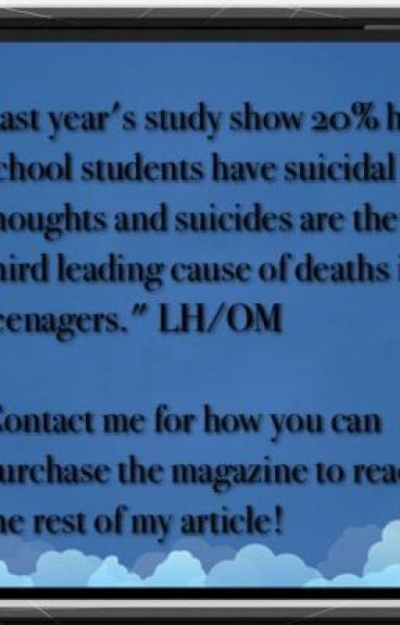 Teen Suicides On the Rise by LenoraUptownsInspire