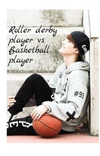 Roller derby player vs basketball player