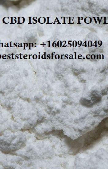 Buy 99% Pure CBD Isolate Powder Sale | Whatsapp: +