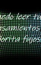 """Puedo leer tus pensamientos señorita """"fujoshi"""" by MichelnMansanilla"""