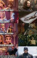 Marvel Memes 2 by SnowCrystal07