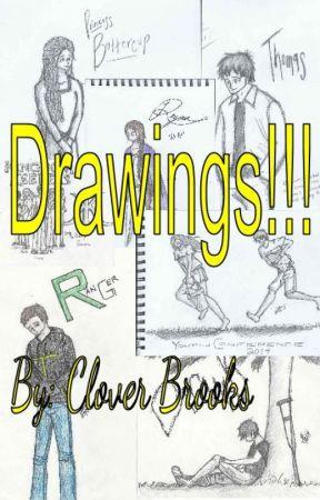 Drawings Unrequested Grover Underwood Tlt Wattpad