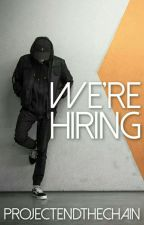 We're Hiring by ProjectEndtheChain
