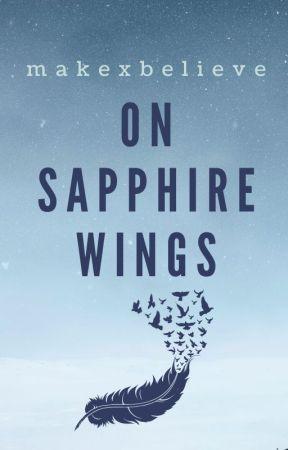 On Sapphire Wings by makexbelieve