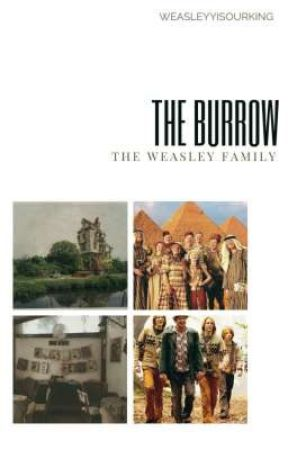 The Burrow » The Weasley Family by -weasleyyyisourking
