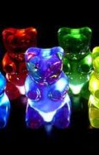 gummy bears r chasing me :) by gearsofwar225