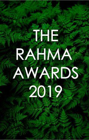 The Rahma Awards 2019 by therahmaawards