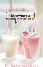 Strawberry Milkshakes K.TH & J.JK by taeeatskookies