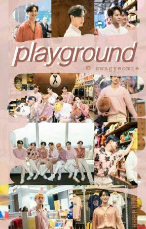 playground | k-idols by swagyeomie