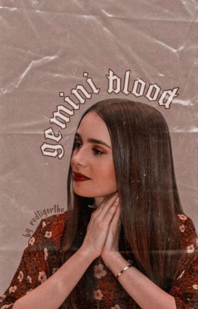 ➺ gemini blood [ shadowhunters ]  by -redtiger_
