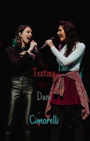 Texting Dani Cimorelli// A Dauren Story by superior_dauren