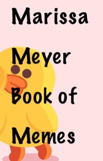 Marissa Meyer book Of Memes