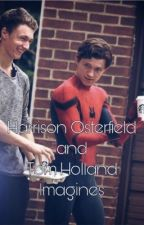 Harrison Osterfield and Tom Holland Imagines by blahblahkiwi