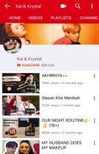 Kai & Krystal (Youtubers) by karellieangel