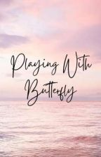 playing with butterfly ; taennie ✔ by disney_aurora
