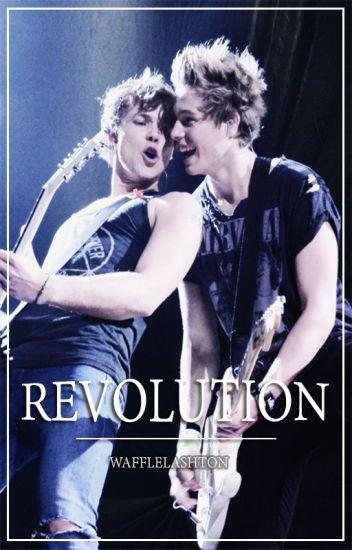 Revolution || Lashton AU - boyxboy