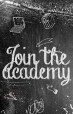 Join the Academy • OPEN by graphicacademy
