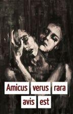 Amicus verus rara avis est by KarusiaS