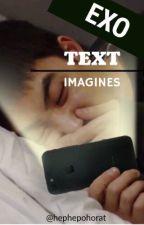 EXO Text Imagines by hephepohorat