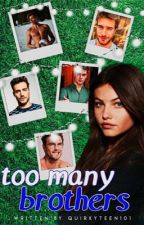 Too Many Brothers  by cazbooks
