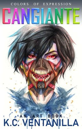 Cangiante: Art Book by Kishyie
