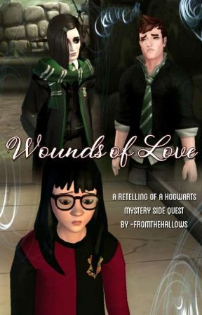 Wounds of Love (a Hogwarts Mystery side quest retell) by -fromthehallows