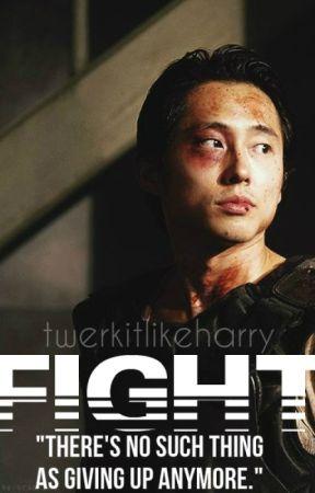 Fight  » TWD (Glenn Rhee) by twerkitlikeHarry